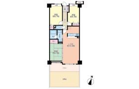 3LDK Apartment in Otake - Fukuoka-shi Higashi-ku