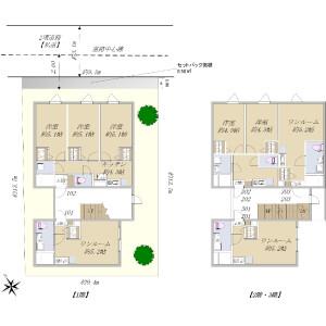 Whole Building {building type} in Kamiikebukuro - Toshima-ku Floorplan