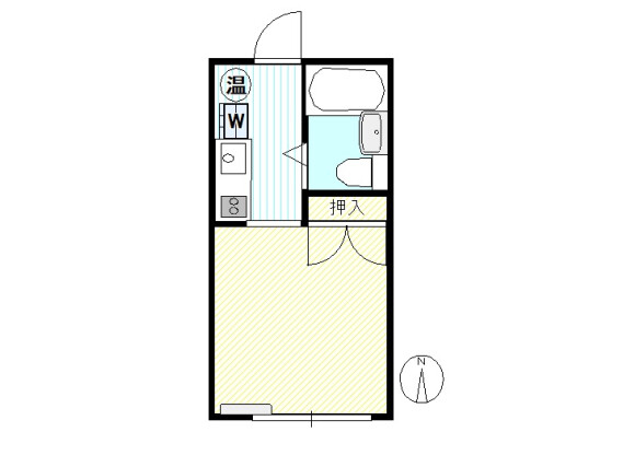 1R Apartment to Buy in Kawaguchi-shi Floorplan