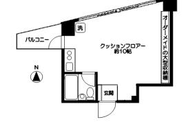 世田谷区 松原 1R マンション