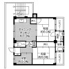 3DK Apartment to Rent in Katano-shi Floorplan
