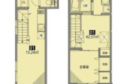 2LDK Apartment in Honamanuma - Suginami-ku