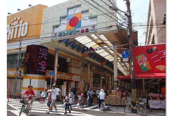 1R Apartment to Rent in Osaka-shi Nishiyodogawa-ku Shopping mall