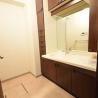 3LDK Apartment to Rent in Koganei-shi Washroom