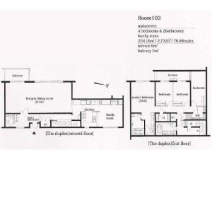 4LDK Apartment in Nishihara - Shibuya-ku Floorplan