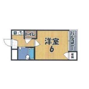 奈良市芝辻町-1K公寓大厦 楼层布局
