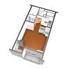 1K Apartment to Rent in Sakai-shi Mihara-ku Floorplan