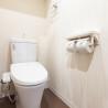 1R Serviced Apartment to Rent in Fukuoka-shi Hakata-ku Toilet