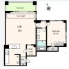1SLDK Apartment to Rent in Setagaya-ku Floorplan