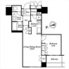 1LDK Apartment to Rent in Toshima-ku Floorplan