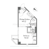 1DK Apartment to Buy in Toshima-ku Floorplan