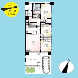 3LDK {building type} in Nukui - Nerima-ku Floorplan