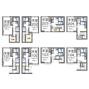 1K Apartment in Nishishinagawa - Shinagawa-ku Floorplan