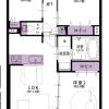 2SLDK Apartment to Buy in Higashikurume-shi Floorplan