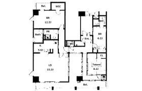 3LDK Apartment in Minatomachi - Osaka-shi Naniwa-ku