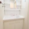 1DK Apartment to Rent in Shinjuku-ku Washroom