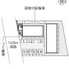 1K Apartment to Rent in Kyoto-shi Yamashina-ku Layout Drawing