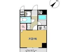 1R Apartment in Minoshima - Fukuoka-shi Hakata-ku
