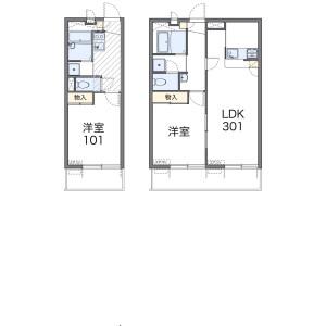1K Mansion in Nishisugamo - Toshima-ku Floorplan