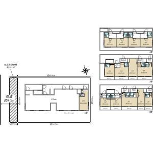 Whole Building {building type} in Kashiwacho - Tachikawa-shi Floorplan