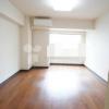 在涩谷区购买1K 公寓大厦的 起居室