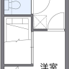 1K Apartment to Rent in Inagi-shi Floorplan