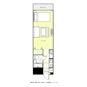 1R Mansion in Sugamo - Toshima-ku Floorplan