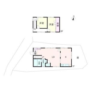 2LDK House in Kamiookahigashi - Yokohama-shi Konan-ku Floorplan