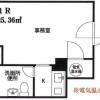 在品川区购买1K 公寓大厦的 楼层布局