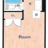 1R Apartment to Rent in Nerima-ku Floorplan