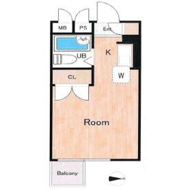 1R Mansion in Sekimachikita - Nerima-ku Floorplan