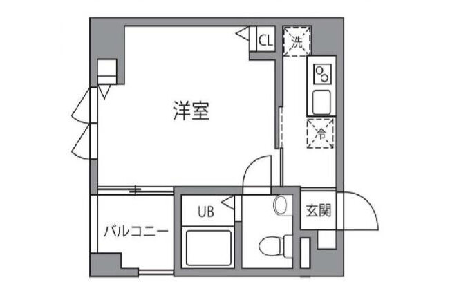 1K Apartment to Rent in Sumida-ku Interior