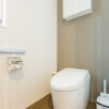 1LDK Serviced Apartment to Rent in Osaka-shi Fukushima-ku Toilet