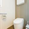 1LDK Serviced Apartment to Rent in Osaka-shi Fukushima-ku Toilet