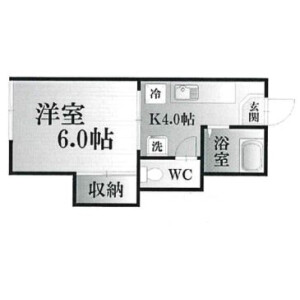 1K Apartment in Midorigaoka - Yokosuka-shi Floorplan