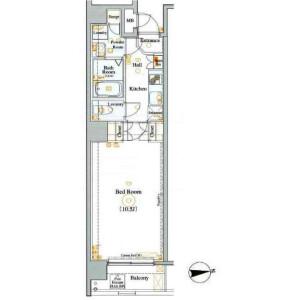 1K Mansion in Ueno - Taito-ku Floorplan