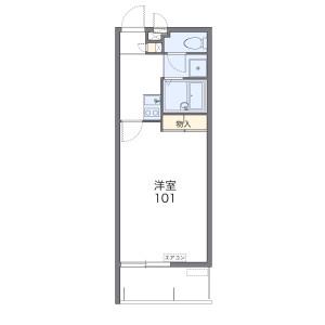 1K Mansion in Maehara - Ginowan-shi Floorplan