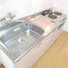 1LDK Apartment to Rent in Arakawa-ku Kitchen