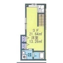 1LDK Apartment in Tamagawadai - Setagaya-ku Floorplan