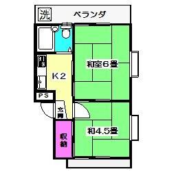 2K Mansion in Nakamurakita - Nerima-ku Floorplan