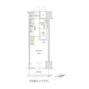 1K Mansion in Torigoe - Taito-ku Floorplan