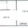 1DK Apartment to Buy in Osaka-shi Kita-ku Floorplan
