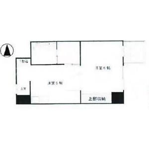 1DK {building type} in Doshin - Osaka-shi Kita-ku Floorplan