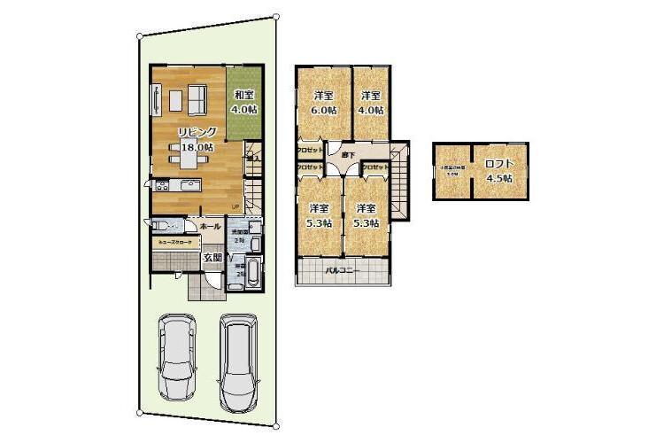 4LDK House to Buy in Kyoto-shi Fushimi-ku Interior