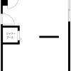 在杉並區內租賃1DK 服務式公寓 的房產 房間格局