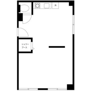 杉並區 - 服務式公寓 房間格局