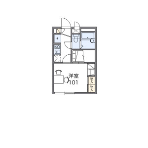1K Apartment in Takashimadaira - Itabashi-ku Floorplan