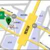 1K Apartment to Rent in Shinjuku-ku Access Map