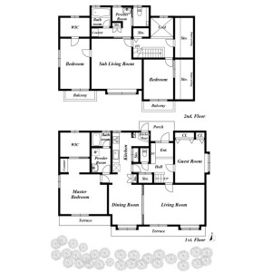 4LDK House in Oi - Shinagawa-ku Floorplan