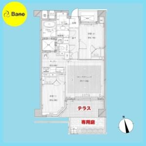 2LDK {building type} in Nishikasai - Edogawa-ku Floorplan